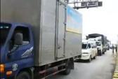 Tài xế trả tiền lẻ, kẹt xe nhiều giờ ở trạm BOT Ninh An