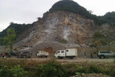 Rơi từ độ cao 50m, một công nhân khai thác đá tử vong
