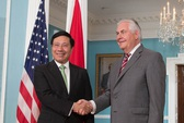 Ngoại trưởng Mỹ Rex Tillerson chúc mừng Quốc khánh Việt Nam
