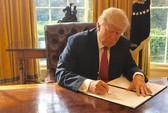 Ông Trump ký sắc lệnh nhập cư mới