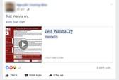 Nhiều người phát tán WannaCry vô tội vạ tại Việt Nam