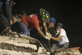 Động đất Mexico: Hối hả cứu người sau khi thấy