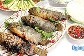 Nhớ đời món cá rô nướng muối ớt