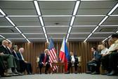 Tuyên bố chung Mỹ - Philippines phản đối quân sự hóa biển Đông