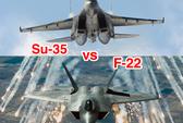 Nga tung tiêm kích Su-35 chặn chiến đấu cơ Mỹ ở Syria
