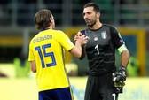 Dứt điểm kém, Ý mất vé World Cup vào tay Thụy Điển