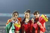 Nguyễn Thị Huyền vô địch 400 m rào châu Á, phá kỷ lục SEA Games
