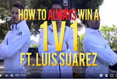 Suarez tung clip hướng dẫn ghi bàn triệu lượt xem