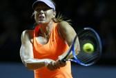 Sharapova hơi căng thẳng trong đêm tái xuất