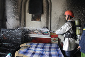 Đà Nẵng: Cháy khách sạn 5 tầng, người dân phát hoảng