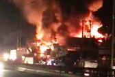 Cháy lớn ở Tiền Giang,