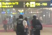Sân bay Singapore hỗn loạn vì cháy