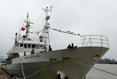 Tiếp nhận tàu kiểm ngư hiện đại Yuhzan-Maru do Nhật tài trợ