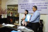 Chia sẻ kinh nghiệm cho cán bộ Công đoàn Campuchia