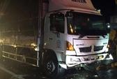 Xe tải tông vào đuôi xe công an, 2 sĩ quan tử nạn