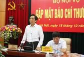Clip Thứ trưởng Trần Anh Tuấn nói bổ nhiệm ông Lê Phước Hoài Bảo