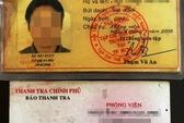 Rút thẻ phóng viên dỏm lòe CSGT khi vi phạm