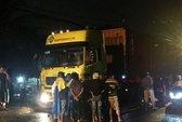 Lưu thông trong giờ cấm, xe container cán chết người