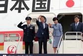Máy bay của thủ tướng Nhật rớt