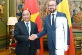 Hội đàm với Thủ tướng Nguyễn Xuân Phúc, Thủ tướng Bỉ Charles Michel khẳng định ủng hộ EVFTA