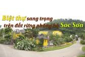(Video) - Ai là chủ nhân những biệt thự sang trên đất rừng phòng hộ Sóc Sơn?