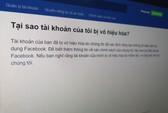 Nhiều nghệ sĩ Việt Nam khóa Facebook vì sợ bị đánh sập