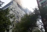 Cháy khách sạn A & Em sau lưng chợ Bến Thành