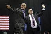 Hai ông Donald Trump, Barack Obama cùng