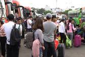 Bến xe Miền Đông, miền Tây, Ga Sài Gòn đông nghẹt khách về quê ăn Tết