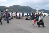 Tàu cao tốc Sóc Trăng – Côn Đảo tấp nập khách ngày Mùng 2 Tết