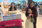 Hai chuyến bay từ Đài Loan đưa cô dâu Việt về quê ăn Tết