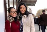 Lộ thêm hình ảnh bà Yingluck đang ở Anh
