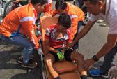 Thêm 1 tay đua TP HCM gặp nạn ở Cúp Truyền hình TP HCM 2018