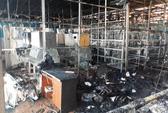 Cháy lớn tại Công ty Sâm Ngọc Linh Đà Lạt