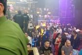 Đột kích quán bar cho khách sử dụng ma túy ở trung tâm Sài Gòn