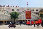 Tiểu thương phản đối xây chợ Đồng Xuân thành trung tâm thương mại