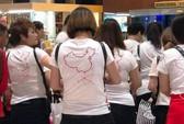 """Vụ khách TQ mặc áo """"đường lưỡi bò"""": Yêu cầu tăng cường quản lý"""