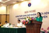 Bộ trưởng Nguyễn Thị Kim Tiến quy trách nhiệm nhà vệ sinh