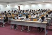 Hồ sơ dự thi kiểm tra năng lực Trường ĐH Quốc tế tăng gấp 3 lần