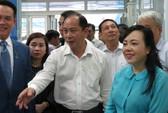 Bộ trưởng Bộ Y tế đến thăm và làm việc tại trạm y tế, phòng khám DHA Medic
