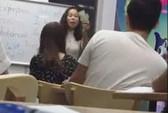 Nữ giáo viên mắng học viên