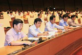 Quốc hội biểu quyết lùi dự án Luật Đặc khu với trên 85% phiếu thuận