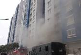 Bệnh nhân cháy chung cư Carina nhập viện trở lại