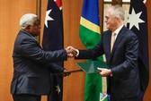 Ký thỏa thuận với Úc, quần đảo Solomon bỏ rơi tập đoàn Trung Quốc