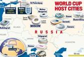Chiêm ngưỡng 12 sân bóng World Cup tuyệt đẹp từ không trung