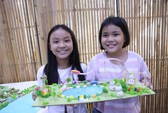 Trẻ em thiết kế... TP HCM không ngập nước, ô nhiễm