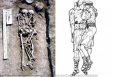 Sự thật gây sốc về cặp đôi ôm nhau 3.000 năm trong mộ cổ
