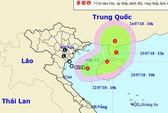 """Hướng di chuyển """"lạ"""" của áp thấp nhiệt đới trên vịnh Bắc Bộ"""