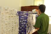 Kiểm tra 3 căn nhà, phát hiện hàng chục ngàn bao thuốc lá nhập lậu