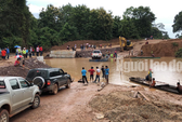 Họp khẩn ứng phó việc vỡ đập ở Lào, mưa lũ dồn dập
